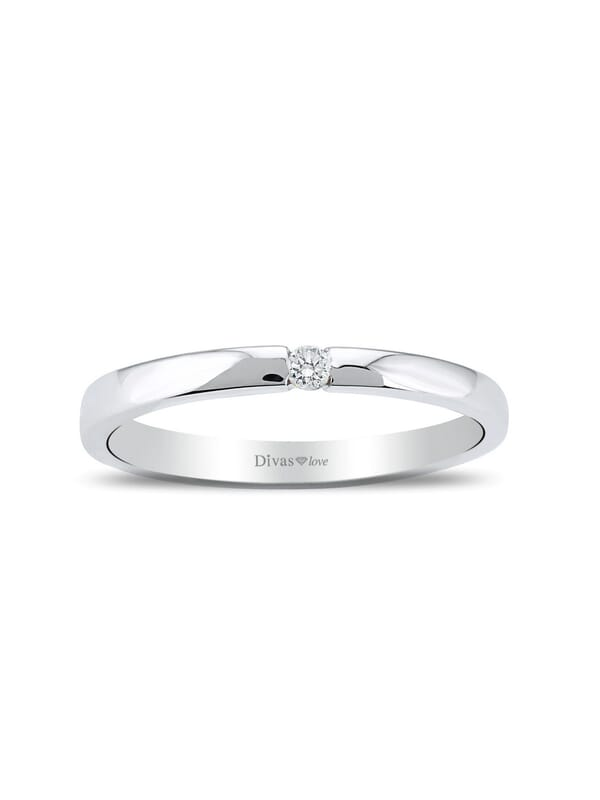 0,03 Carat Solitaire Engagement Ring
